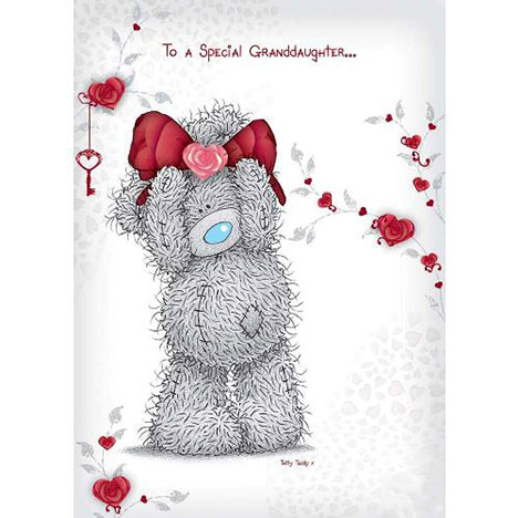 Special Granddaughter Me to You Bear Valentines Day Card  £1.60