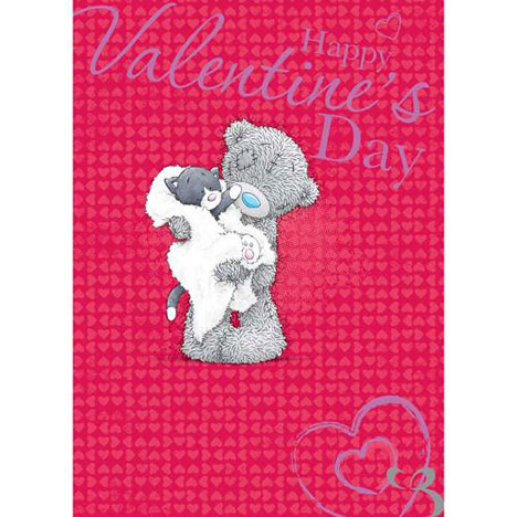 Cat Me to You Bear Valentines Day Card  £1.79
