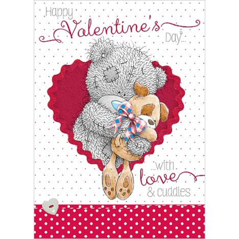 Tatty Teddy with Dog Me to You Bear Valentine