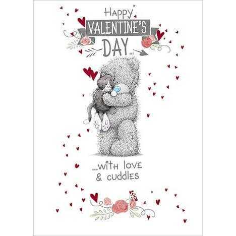 Cat Valentines Day  Me to You Bear Card  £1.79