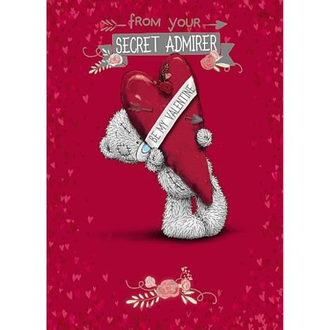 From Secret Admirer Me to You Bear Valentines Day Card  £0.90