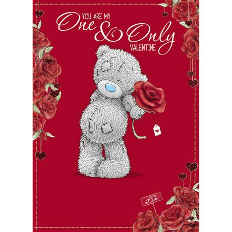 One & Only Me to You Bear Valentines Day Card  £1.79