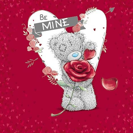 Be Mine Me to You Bear Valentines Day Card  £2.09