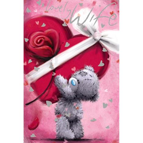 Lovely Wife Me to You Bear Valentines Day Card  £2.49
