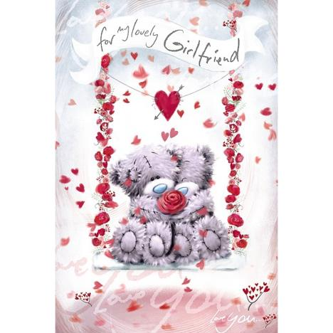 Girlfriend Softly Drawn Me to You Bear Valentines Day Card  £2.49