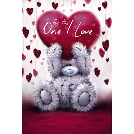 One I Love Me to You Bear Valentines Day Card  £2.49