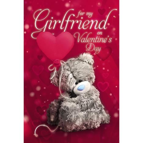 Girlfriend Photo Finish Me to You Bear Valentines Day Card  £2.49