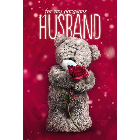 Husband Photo Finish Me to You Bear Valentines Day Card  £2.49