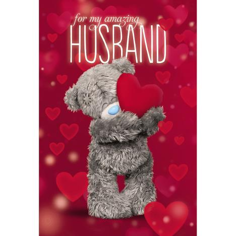 Amazing Husband Me to You Bear Valentines Day Card  £2.49