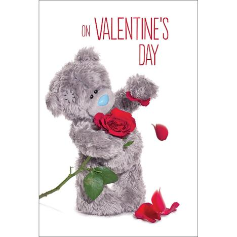 3D Holographic Rose Me to You Bear Valentines Day Card  £3.79
