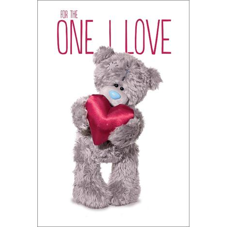 3D Holographic One I Love Me to You Bear Valentines Day Card  £3.79