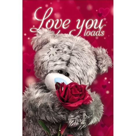 3D Holographic Love You Loads Me to You Valentines Day Card  £3.79