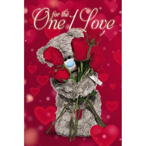 3D Holographic One I Love Me to You Bear Valentines Day Card  £4.25