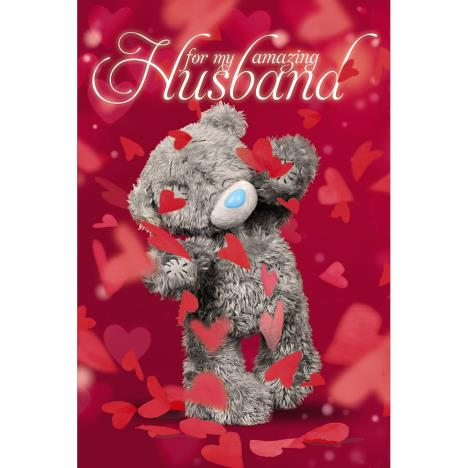 3D Holographic Husband Me to You Bear Valentines Day Card  £4.25