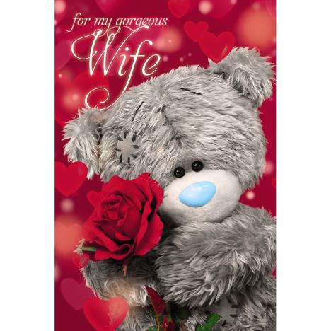 3D Holographic Wife Me to You Bear Valentines Day Card  £4.25