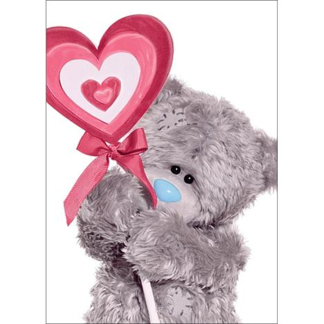 3D Holographic Lollypop Me to You Bear Valentines Day Card  £2.69