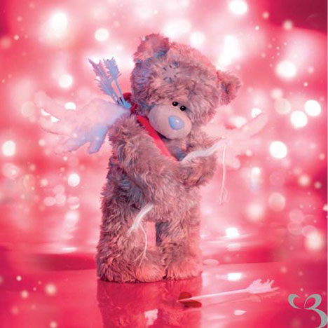 3D Holographic Me to You bear Valentines Day Card  £2.99