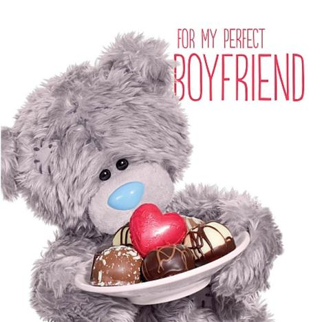 3D Holographic Boyfriend Me to You Bear Valentines Day Card  £2.99