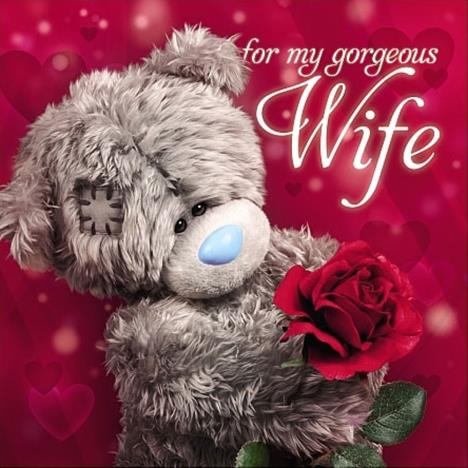 3D Holographic Wife Square Me to You Valentines Day Card  £2.99