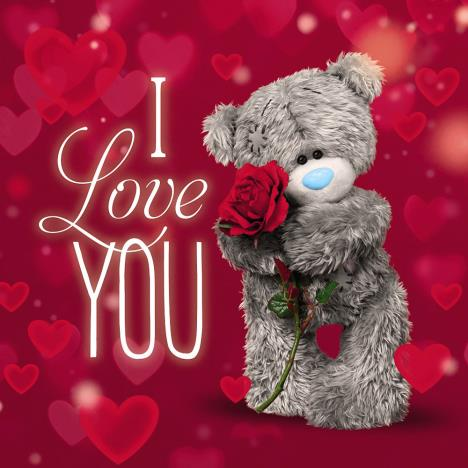 3D Holographic I Love You Me to You Bear Valentines Day Card  £3.59