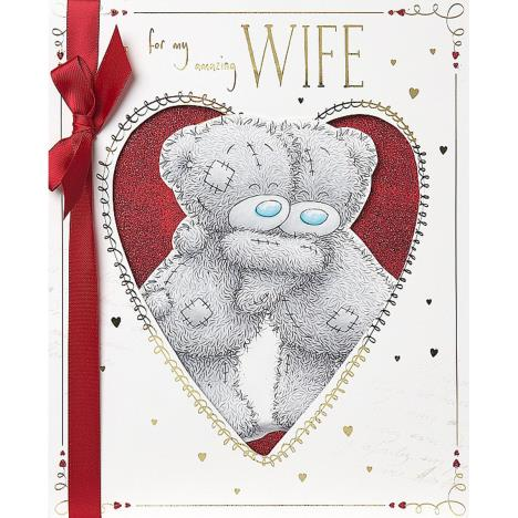 Wife Me to You Bear Valentines Day Boxed Card  £6.99