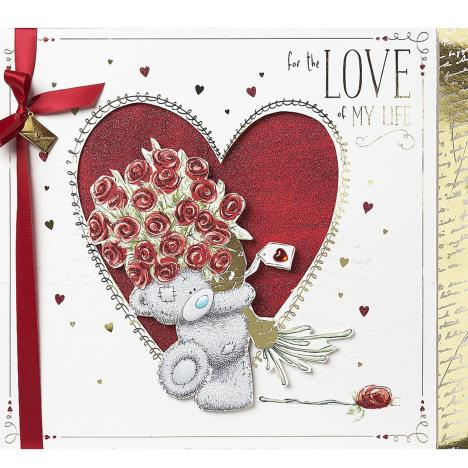 Love of My Life Large Me to You Bear Valentines Day Boxed Card  £14.99