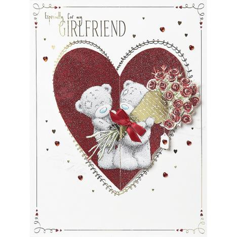 Girlfriend Me to You Bear Valentines Day Boxed Card  £9.99