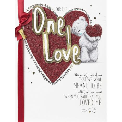 One I Love Me to You Bear Valentines Day Boxed Card  £9.99