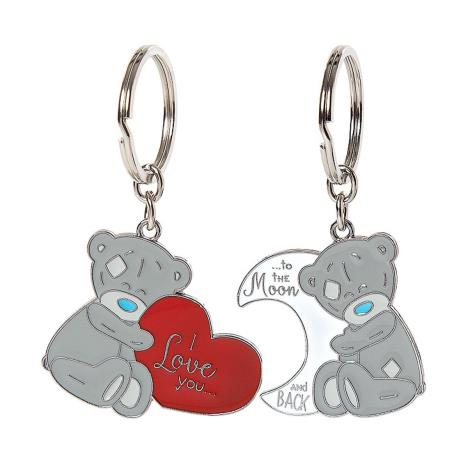 Love You to the Moon 2 Part Me to You Bear Key Ring  £5.99