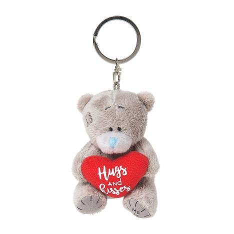 "3"" Padded Hugs & Kisses Heart Me to You Plush Key Ring  £4.99"