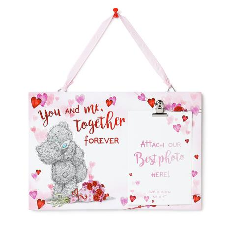 You and Me Together Me to You Bear Photo Plaque  £5.99