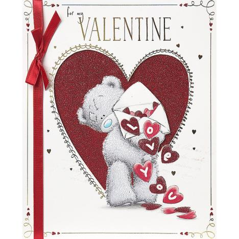 My Valentine Me to You Bear Handmade Valentines Day Card  £4.99