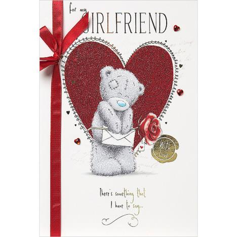 For My Girlfriend Handmade Me to You Bear Valentines Day Card  £3.99