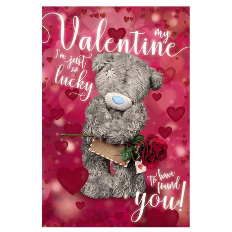 3D Holographic Lucky Valentine Me to You Bear Valentines Day Card  £4.25