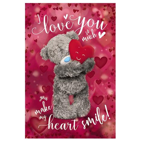 3D Holographic I Love You Me to You Bear Valentines Day Card  £4.25