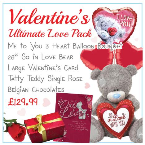 The Ultimate Valentines Day Pack   £129.99