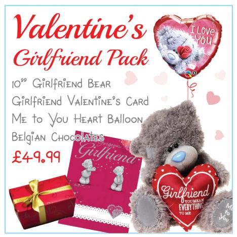 The Girlfriend Valentines Day Pack   £49.99