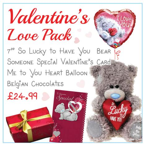 The Love Valentines Day Pack   £24.99