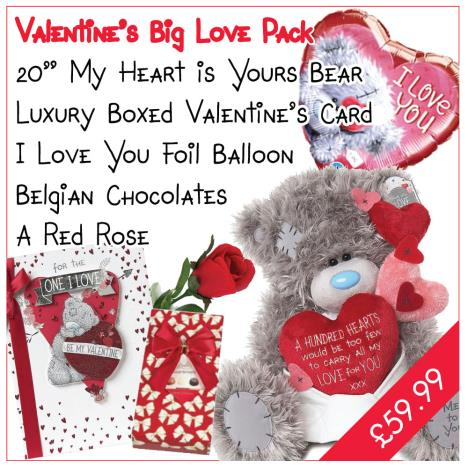 Big Love Valentines Day Pack   £59.99