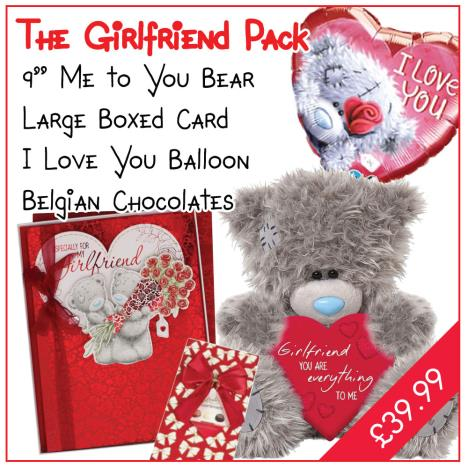Girlfriend Valentines Day Pack   £39.99