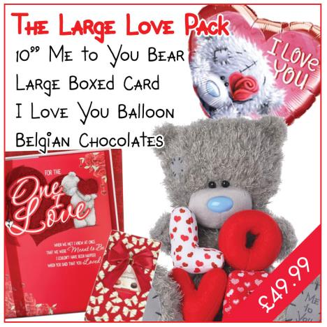 Large Love Valentines Day Pack   £49.99