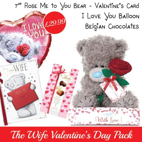 Wife Valentines Day Pack   £29.99