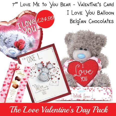 Love Valentines Day Pack   £24.99