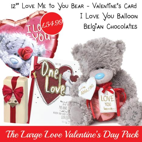 Large Love Valentines Day Pack   £54.99