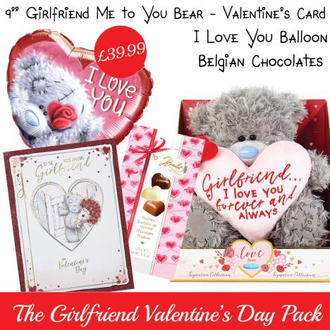 Girlfriend Valentines Day Gift Pack   £39.99
