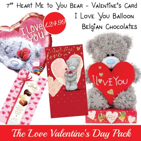 Love Valentines Day Gift Pack   £24.99