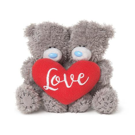 "2 x 4"" Holding Padded Love Hear Me to You Bears  £9.99"
