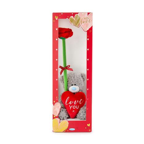 "4"" Love You Me to You Bear & Rose Gift Set  £9.99"