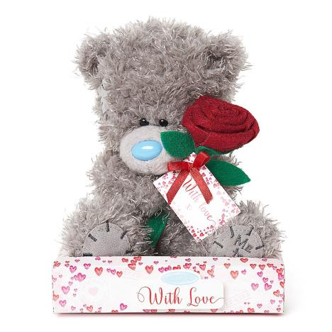 "7"" Holding Rose Me to You Bear  £9.99"