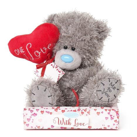 "7"" One I Love Heart Balloon Personalisable Me to You Bear  £9.99"